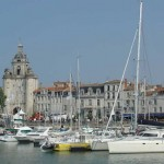 The harbour at La Rochelle